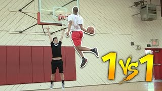 Download 1 V 1 VS MOST ATHLETIC HIGHSCHOOL PLAYER #1 SG CASSIUS STANLEY Video