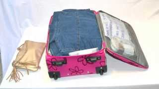 Download 150 outfits in a carry on! amazing packing tutorial! low cost summer Video