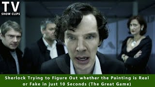 Download Figuring out a Fake Painting in just 10 Seconds - Sherlock Video