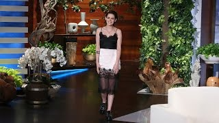 Download Kristen Stewart Opens Up to Ellen Video
