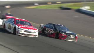 Download Blaney holds off Harvick for first Monster Energy Series win Video