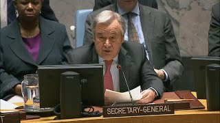 Download António Guterres on Collective Action to Improve UN Peacekeeping Operations (Full Remarks) Video
