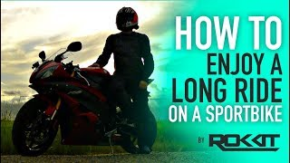 Download How to do LONG trips on a SPORTBIKE Video
