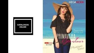Download catalogo ropa mega moda 2018 Primavera verano Video