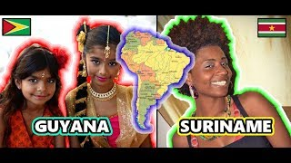 Download A Mix of Indians and Africans in South America? People of Guyana, Suriname and French Guiana Video