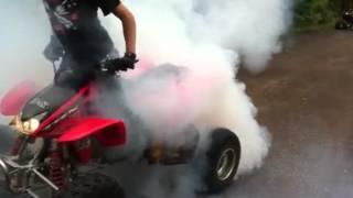 Download Trx 450r burnout Video