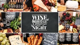 Download Wine & Cheese Party | Holiday Entertaining Ideas Video