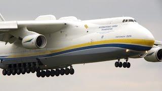 Download Antonov An-225 Mriya   Landing + Takeoff at Leipzig/Halle Airport   Ан-225 Мрия Video