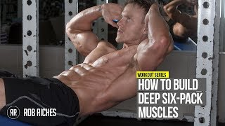 Download How to get Insane Ripped Six Pack Abs (Rob Riches) Video