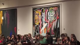 Download Jean-Michel Basquiat's 'Dustheads' | 2013 World Auction Record Video