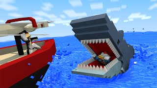 Download Jaws Shark Attack Animated! (Minecraft Animation) Video