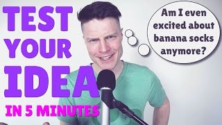 Download How to test your business idea in 5 minutes (or less!) Video