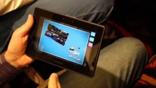 Download RIM PlayBook TAT Scrapbook app, concept demos Video