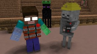 Download Monster School: Magic Hats Fight - Minecraft Animation Video