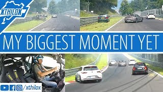 Download My biggest moment on the Ring yet - Close call - OIL Spill @foxhole - Crash Nürburgring Nordschleife Video