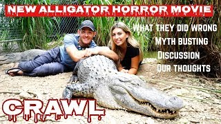 Download Alligator handlers discuss everything they got wrong in the new horror movie ″Crawl″ Video