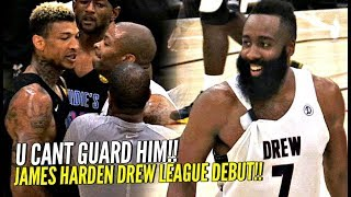 Download James Harden Drew League Debut Got SUPER HEATED!! NBA MVP vs Drew League MVP WENT AT IT!! Video