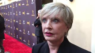 Download Florence Henderson ('The Brady Bunch') chats at Emmy nominee red carpet reception Video