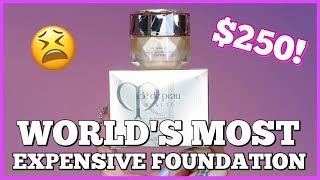Download $250?! TESTING THE WORLD'S MOST EXPENSIVE FOUNDATION! Video