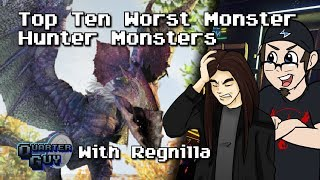 Download Top Ten Worst Monster Hunter Monsters - The Quarter Guy (Ft. Regnilla) Video