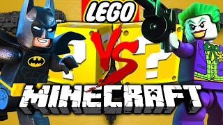 Download Minecraft: LEGO BATMAN LUCKY BLOCK CHALLENGE | HENCHMAN HIRING! Video