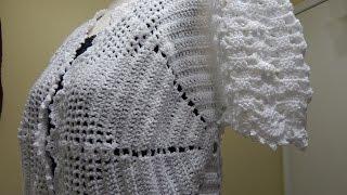 Download Bolero Blanco Crochet parte 1 de 3 Video