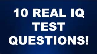 Download WHATS YOUR IQ? 10 REAL IQ TEST QUESTIONS AND ANSWERS! Part 2 Video