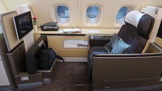 Download Lufthansa A380 First Class Frankfurt to Bangkok (+ First Class Terminal) Video