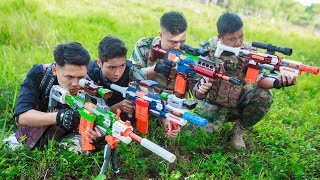 Download LTT Nerf War : Captain SEAL X Warriors Nerf Guns Attack Criminal Group Martial Arts Top Video