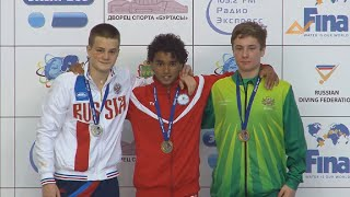 Download 20th FINA World Junior Diving Championships 2014 -1m Boys B Final - Uncut Video