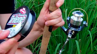 Download How To Put Line On A Spinning Reel Video