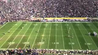 Download Here come the Irish kickoff Video