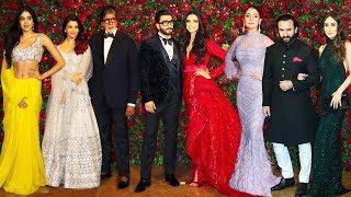 Download Bollwyood Stars At Deepika Padukone & Ranveer Singh's Final WEDDING/Marriage Party Complete Video HD Video