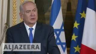 Download Netanyahu in Paris: We will not be lectured by Erdogan Video