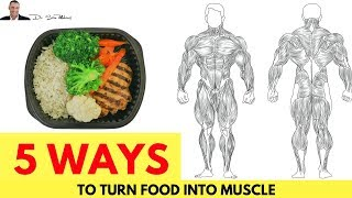 Download 💪 5 Ways To Turn Food Into Muscle & NOT Fat Video
