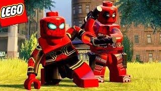 Download LEGO Marvel Vingadores #72 - DEADPOOL E HOMEM-ARANHA GUERRA INFINITA Video