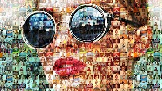 Download Photoshop Tutorial: How to Create Stunning, Photo Mosaic Portraits Video