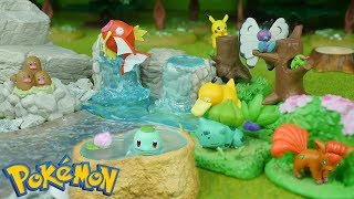 Download Pokemon Diorama Figure Re-Ment Miniatures | Candy Toy Video