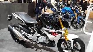 Download BMW G 310 R on display at EICMA 2016 - a close look in 4K Video