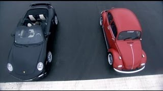 Download Porsche Turbo vs VW Beetle | Top Gear | BBC Video