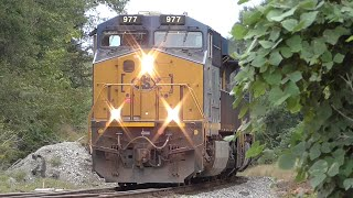 Download [1M] CSX Train Goes into Emergency with Two Scary Bangs, Hull - Auburn GA, 09/24/2015 ©mbmars01 Video