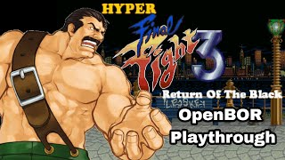 Download Hyper Final Fight 3: The Return of Black OpenBOR Playthrough Video