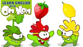 Download Colorful Superheroes for Kids | Learn Colors with Healthy Food + More Nursery Rhymes by Om Nom Video