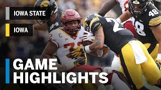 Download Highlights: Iowa State Cyclones vs. Iowa Hawkeyes | Big Ten Football Video