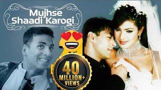 Download Mujhse Shaadi Karogi - Superhit Comedy Film & Songs - Salman Khan - Priyanka Chopra - Akshay Kumar Video