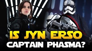 Download ROGUE ONE: Does Jyn Erso Become Captain Phasma and Is She Rey's Mother? | Star Wars HQ Video