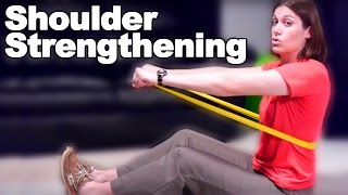 Download Shoulder Strengthening Exercises with a Resistive Band - Ask Doctor Jo Video