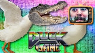 Download HOW TO REASON WITH A CROCODILE | Duck Game Gameplay Video