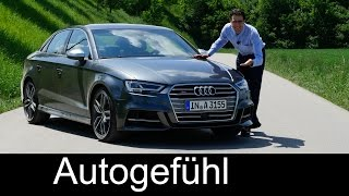 Download New Audi S3 sedan 310 hp FULL REVIEW test driven Audi A3 family Facelift 2017/2016 Video