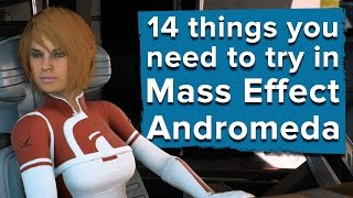 Download 14 things you need to try in Mass Effect Andromeda Video